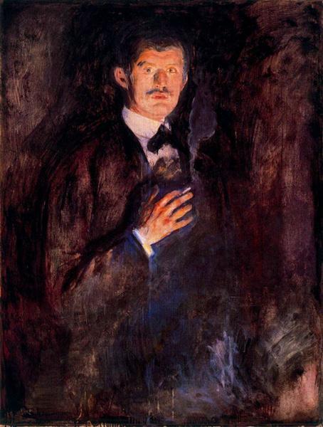 Munk-Edvard-avtoportret-s-zazhzhennoj-sigaretoj