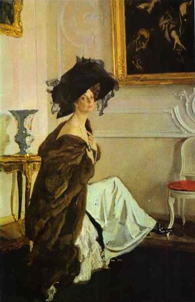 Serov-Valentin-portret-knyagini-olgi-orlovoj