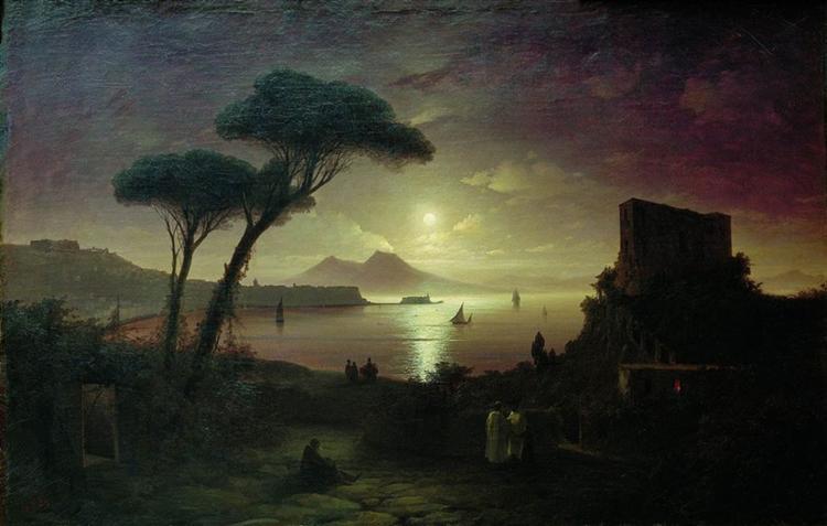Ajvazovskij-Ivan-neapolitanskij-zaliv-v-lunnom-svete