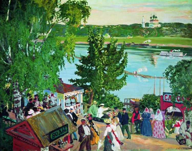 Kustodiev-Boris-gulyanye-na-volge
