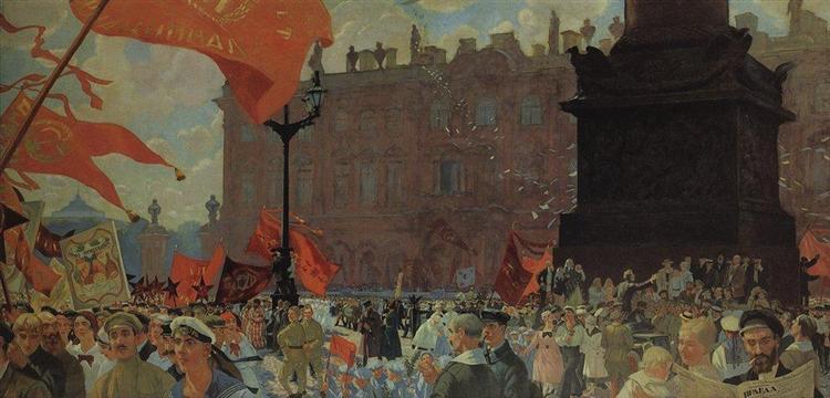 Kustodiev-Boris-prazdnik-na-plosshadi-urickogo-v-chest-otkrytiya-kongressa-kommunisticheskogo-internacionala