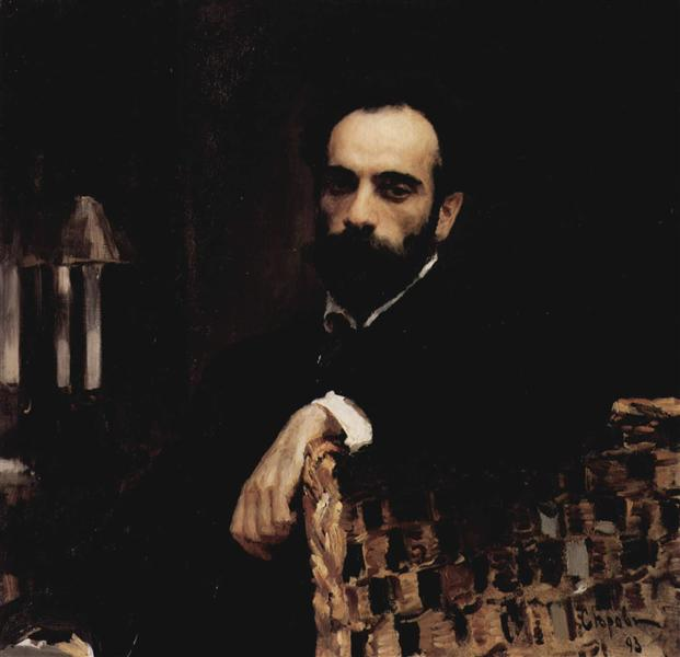 Serov-Valentin-portret-levitana