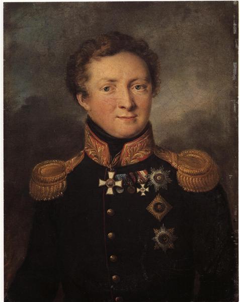 Tropinin-Vasilij-portret-generala-a-i-gorchakova