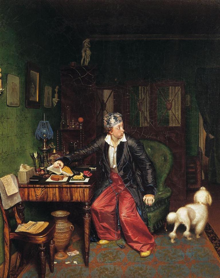 Fedotov-Pavel-zavtrak-aristokrata