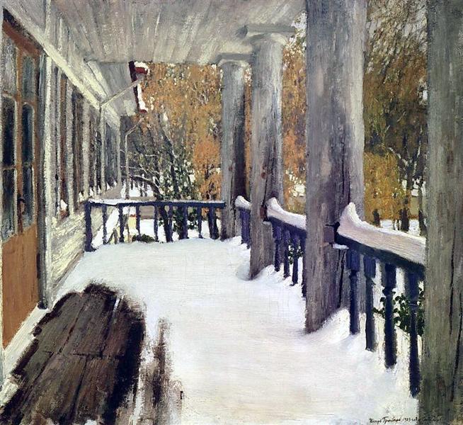 grabar-sentyabrskij-sneg