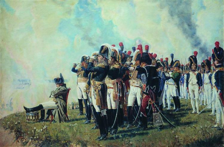 veresshagin-napoleon-na-borodinskih-vysotah